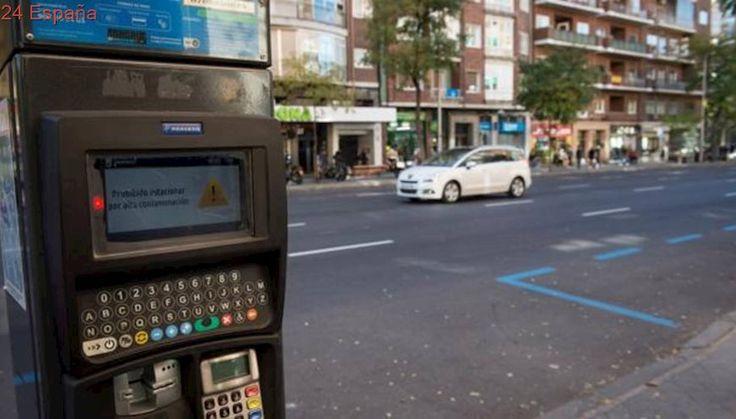 Madrid mantiene este martes la prohibición de aparcar en zona SER por alta contaminación