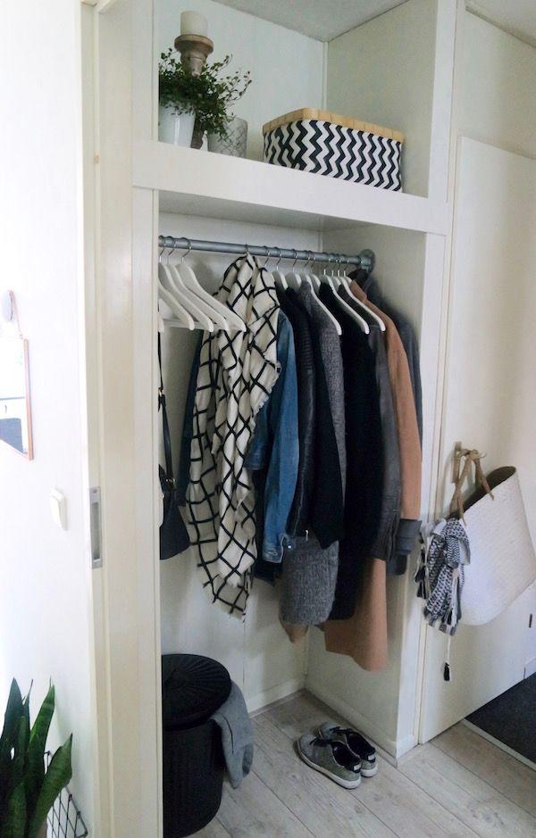 KARWEI | Deze stoere kapstok maak je eenvoudig zelf.