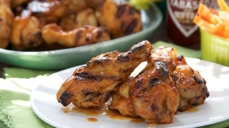 Easy Grilled Buffalo Wings | Recipes | TABASCO.COM