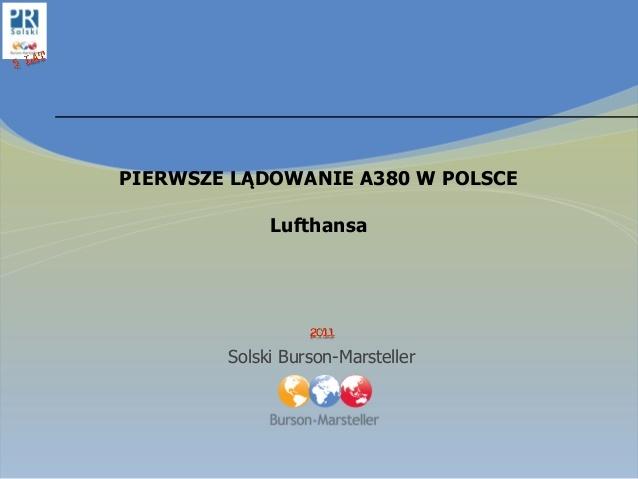 #Lufthansa #A380 #case #study