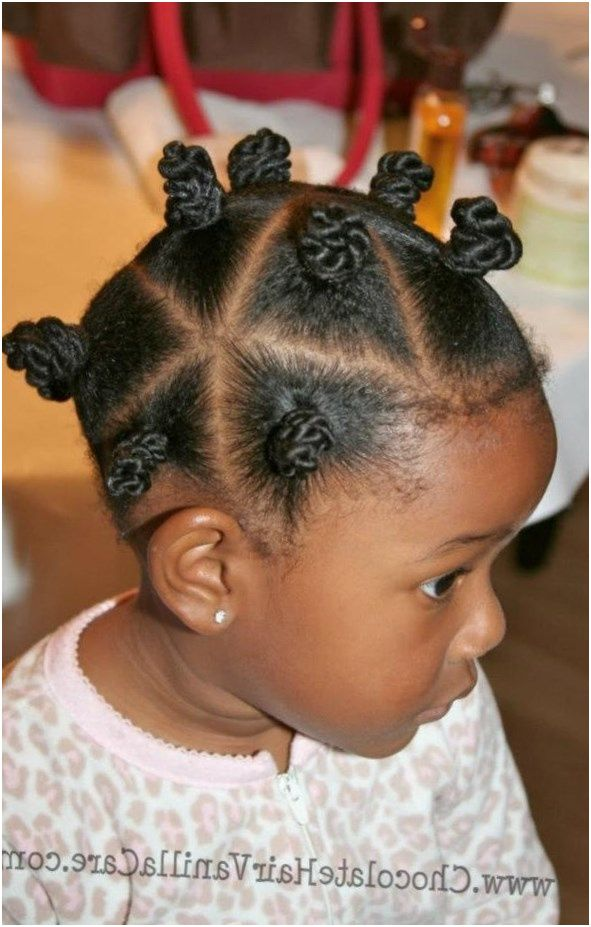 19 coiffure petite fille avec elastique