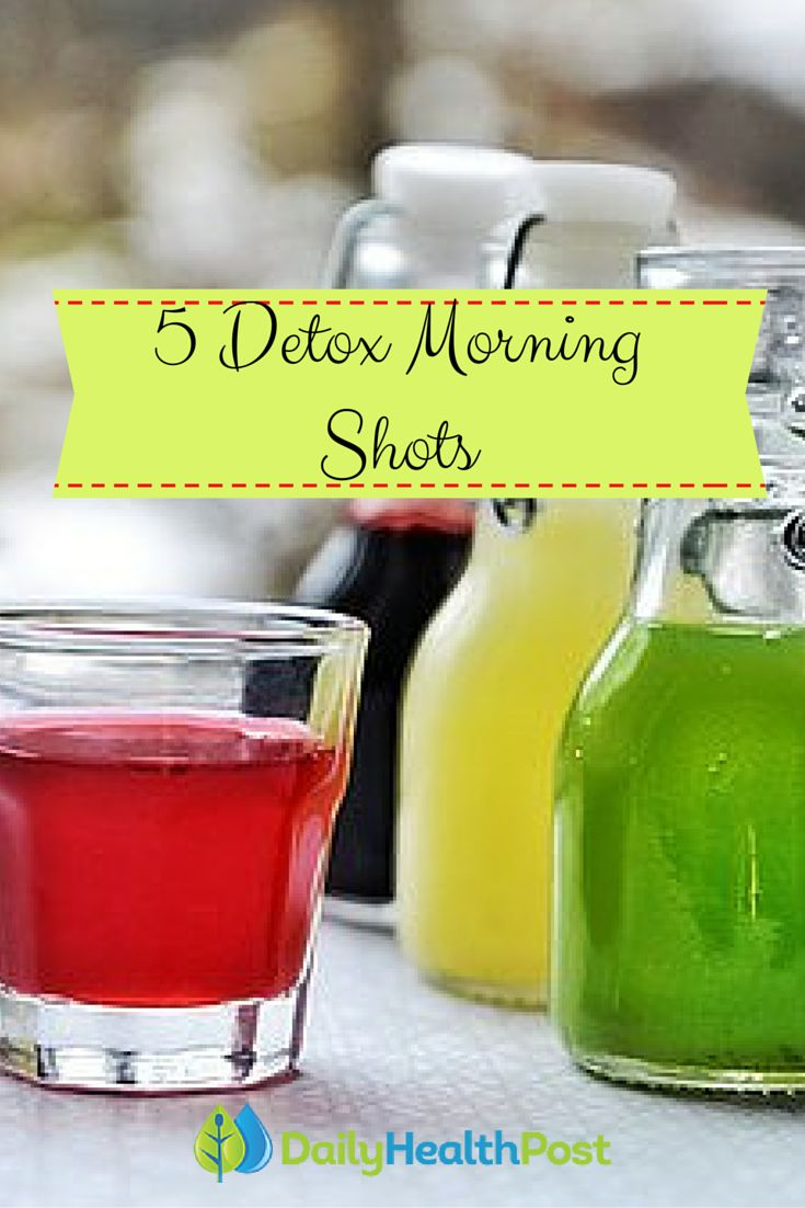 5 Detox 'Shots' To Alkalize Your Body First Thing In The Morning