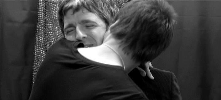 Noel and his brother Liam. They should hug each other not bash each other, because actually both of them need his own brother..