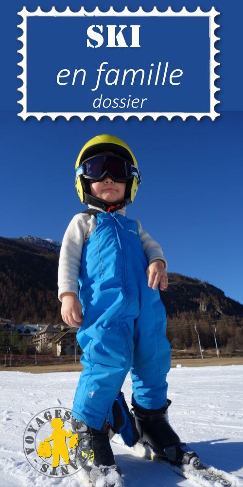 Ski avec des enfants - Astuces pour préparer ses vacances au ski en famille avec de jeunes enfants #ski #famille
