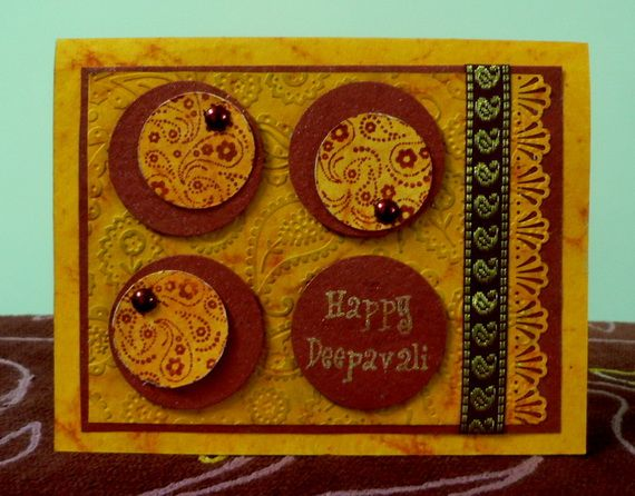 Diwali Homemade Greeting Cards Ideas_16