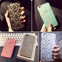 Brand New Glam 2015 Flower Damask Hard Plastový zadný mobilný telefón Skin Púzdro pre iPhone 5 5S 6 6 Plus (Čína (pevninská časť))