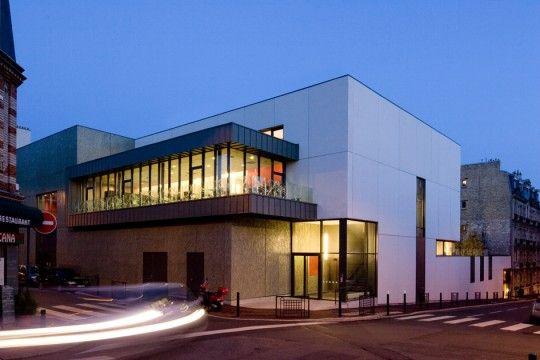 Cuisine centrale et Restaurant municipal , Suresnes, Agence d'architecture Laura Carducci - Realisation