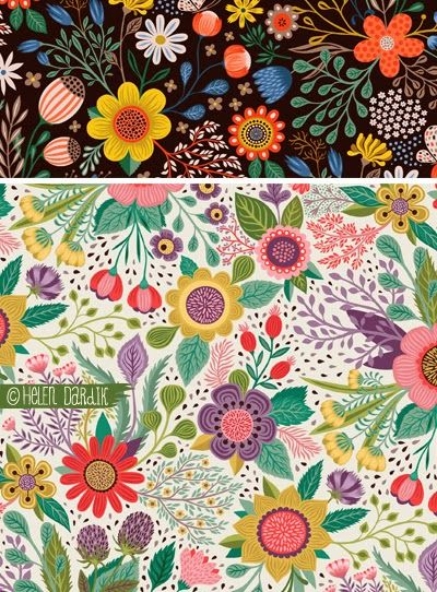 orange you lucky!: new Studio Oh! Botanical Bloom notebooks . . .