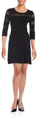 Cece By Cynthia Steffe Butterfly Kiss Sweater Dress - Shop for women's Sweater - Rich Black Sweater