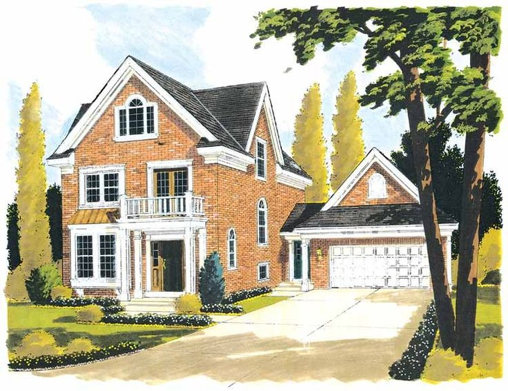 Eplans colonial revival house plan multi purpose 1958 square feet and 3 bedrooms