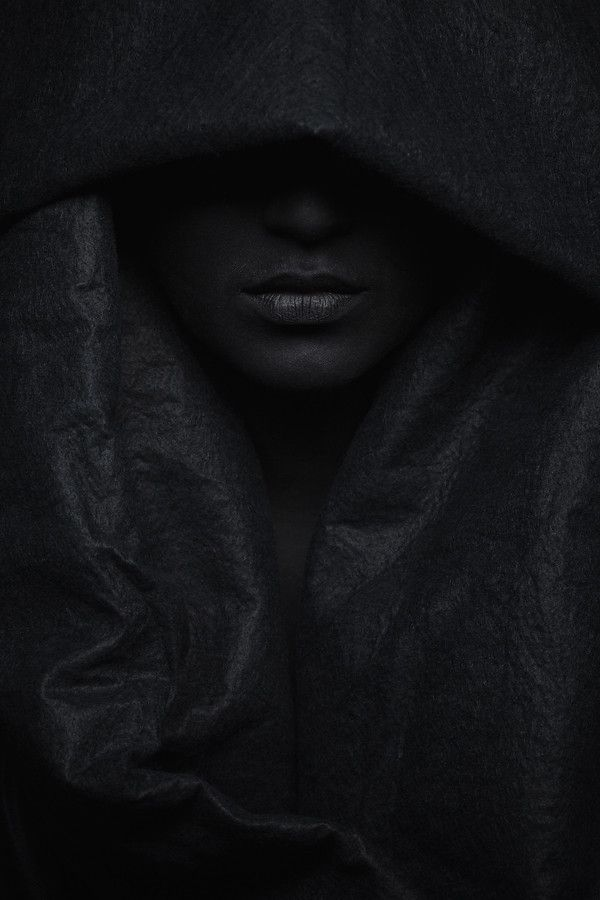 """Dark"" by Ronny Lorenz #black #female #photography"