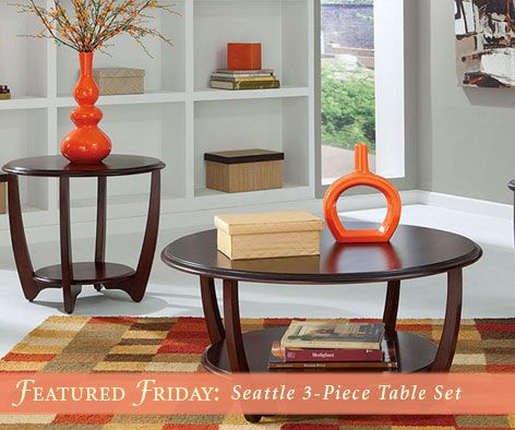 Great The Seattle 3 Piece Table Set Has Us Dreaming Of Spring! | American Freight