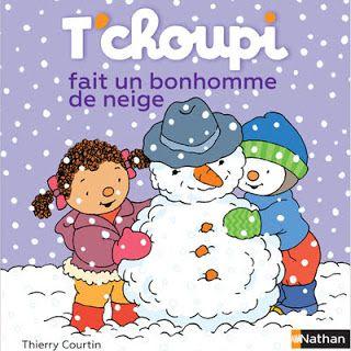 Le Journal de Nounou Sophie: T'choupi fait un bonhomme de neige