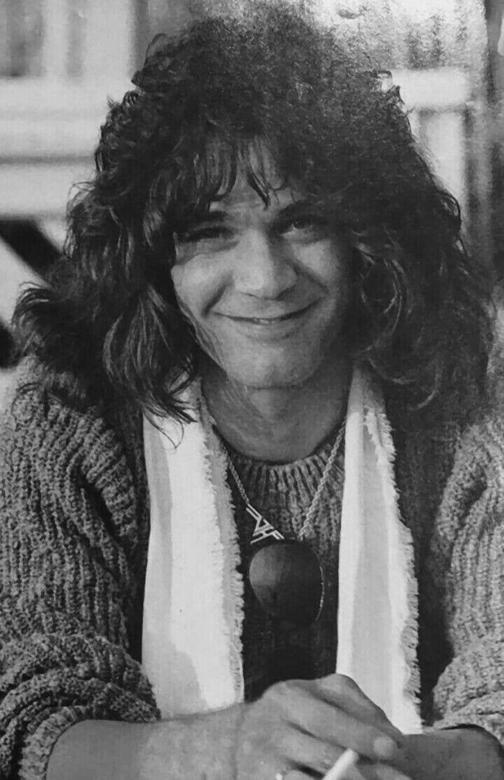 Smiling Eddie Eddie Van Halen Van Halen Van Halen 5150