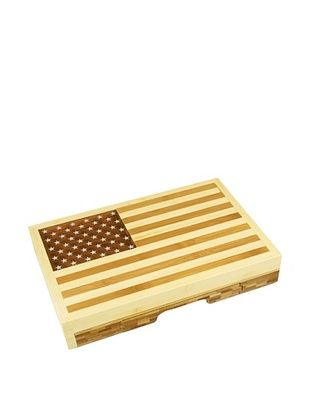 42% OFF Picnic Time Old Glory Cheese Set, 12.5
