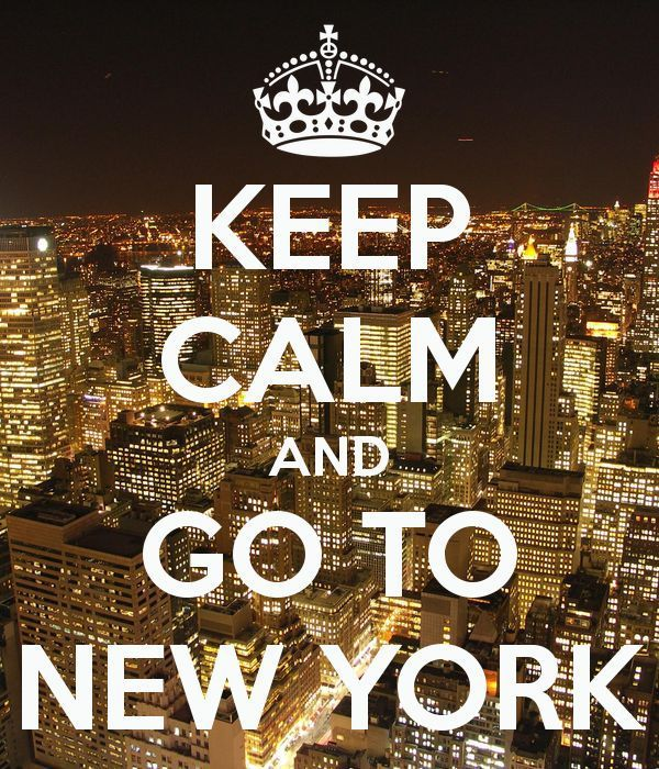 Citation  Photo New York du jour : Keep Calm and Go to New York  We Love New York