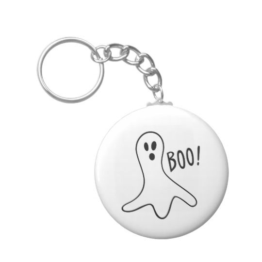 Ghost Keychain