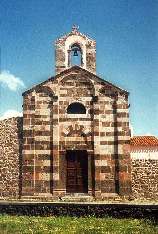 San Palmerio, Ghilarza (#Sardegna) --  #Romanico-pistoiese in Sardegna del primo quarto del XIII secolo.