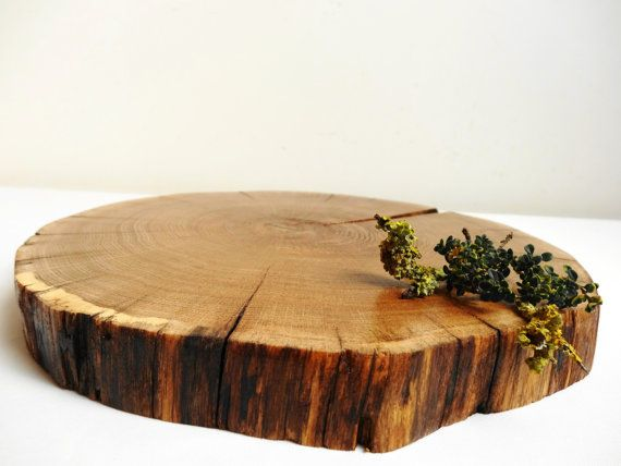 The best wood slab centerpiece ideas on pinterest