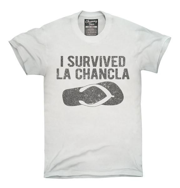 I Survived La Chancla Funny Mexican Humor T-Shirt, Hoodie, Tank Top