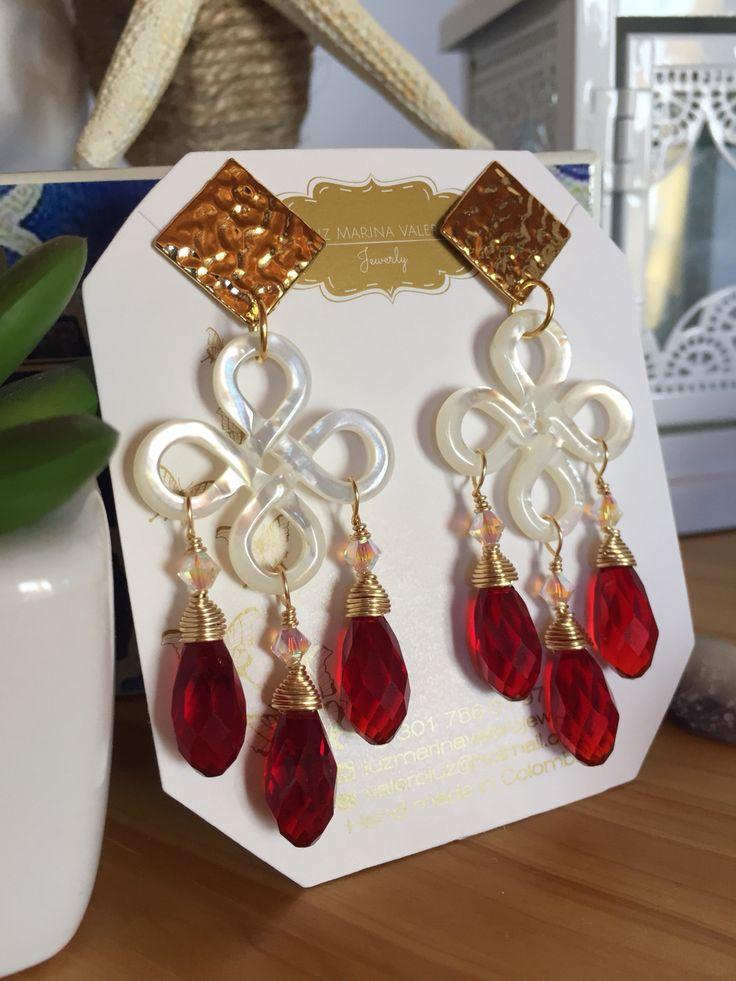 Aretes by Luz Marina Valero Jewelry