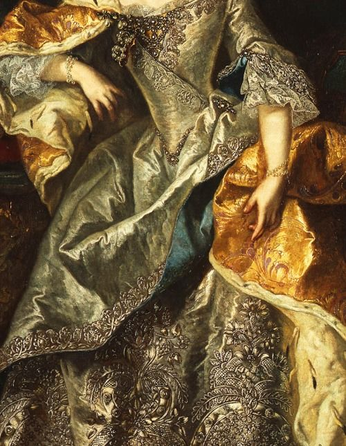Maria Theresa as Queen of Hungary, 18th Century. Detail.
