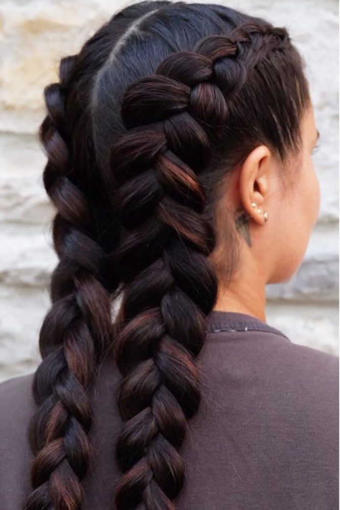 Pin By Ava Hart On Braids In 2019 Braided Hairstyles Hair Styles
