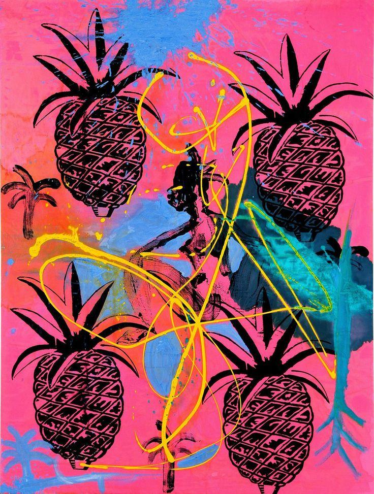 Stefan Szczesny, Pineapple Morning, 140 x 106 cm