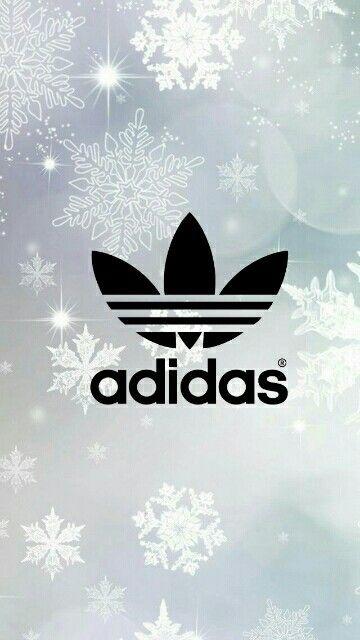 Adidas Tumblr Wallpaper with Snowflakes!❄