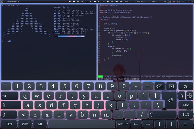 https://www.reddit.com/r/unixporn/comments/87bxsc/i3gaps_tablet_mode/