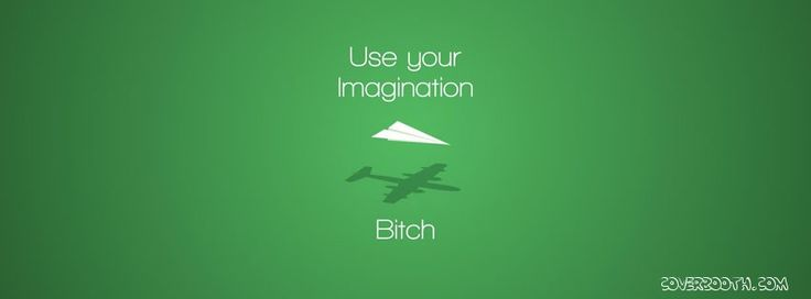 use your imagination bitch cool quotes facebook timeline