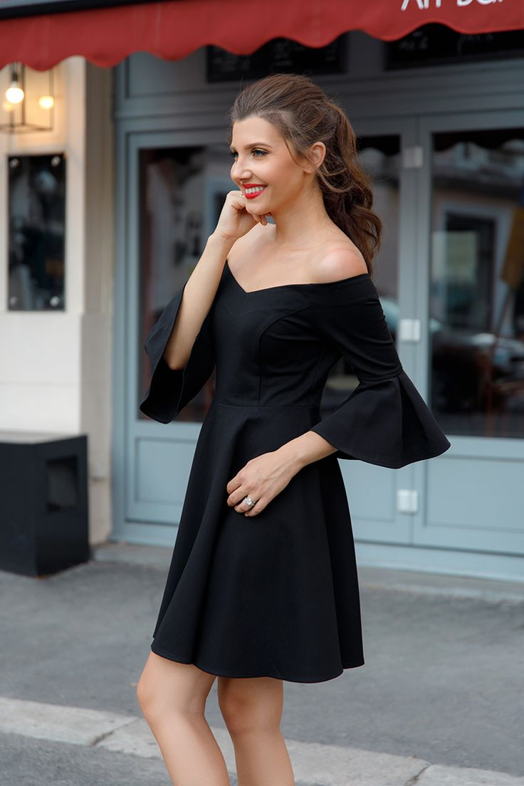 4 little black dresses from @EverPrettyCom , perfect for any cocktail event, here on my blog: http://larisacostea.com/2017/08/4-black-dresses-from-ever-pretty/
