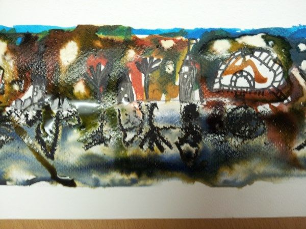 a nice fireworks picture from Ogbourne Art Club | Art club ...