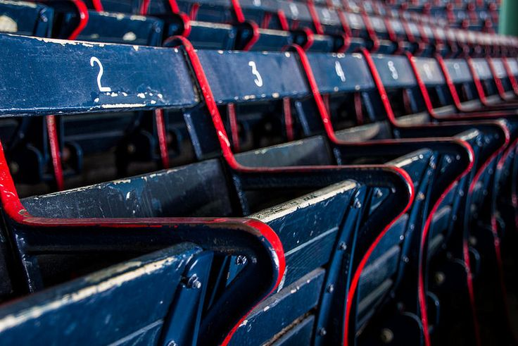 century chairs at Fenway Park