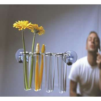 17 best images about diy recycle on pinterest coffee for Test tube flower vase rack