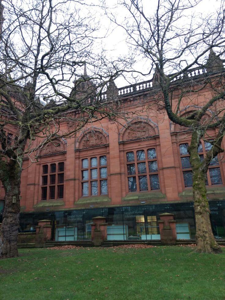 Глазго Шотландия Glasgow Scotland museum Kelvingrove architecture