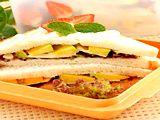 """""""Avocado Sandwich"""" #resep : http://resepkita.com/detailResep.asp?recId=242"""
