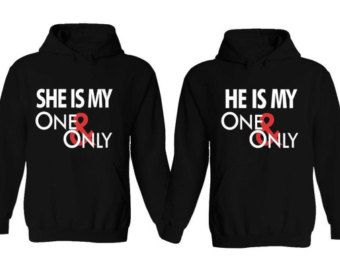 Im Hers and Hes Mine Galaxy Couple Hoodies Mr. and Mrs. Shirt Couples Hoodie…