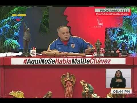 Diosdado Cabello: Embajada de EEUU exigió liberar a 4 directivos de Citg...