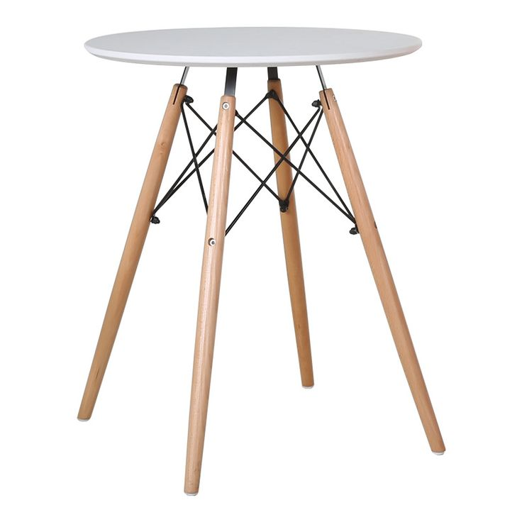 80CM/60CM Round Coffee Table Creative Leisure Negotiation And Chair Apartment Living Room Home Furniture Loft Style Tables