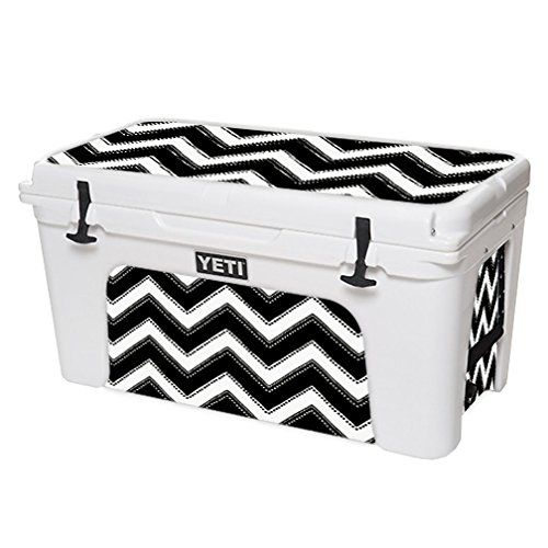 MightySkins Protective Vinyl Skin Decal for YETI Tundra 75 qt Cooler wrap cover sticker skins Chevron Style *** Click image for more details.(This is an Amazon affiliate link and I receive a commission for the sales)