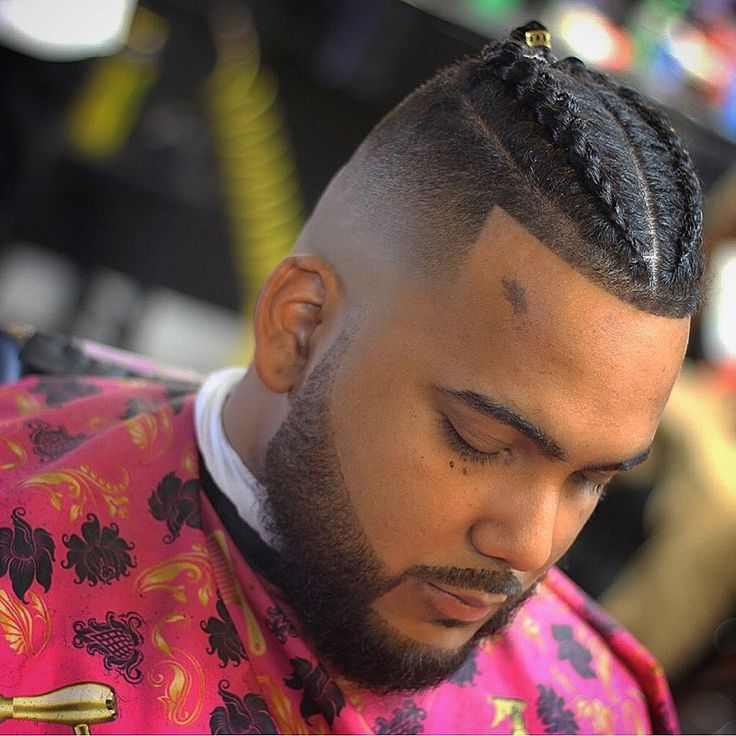 Best 14 Braids Hairstyles + Haircuts For Men's 2019