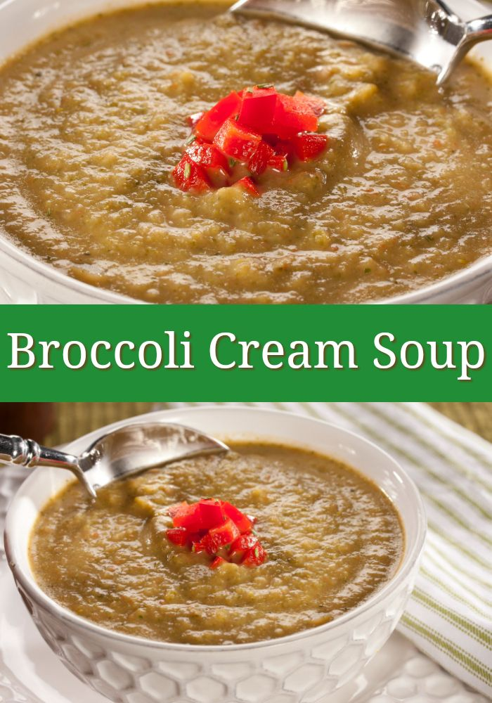 Our Broccoli Cream Soup is made with lots of fresh veggies. Plus, we cut back on some of the fat to make it a healthier option for you!