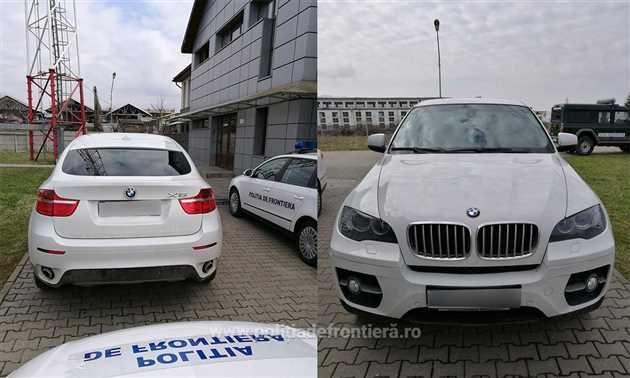 Politistii de frontieră din Negresti Oas au depistat o femeie din Satu-Mare care conducea un autoturism marca BMW X6 ce figura ca fiind furat din Italia