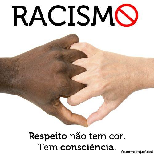 Resultado de imagem para não ao racismo e intolerancia