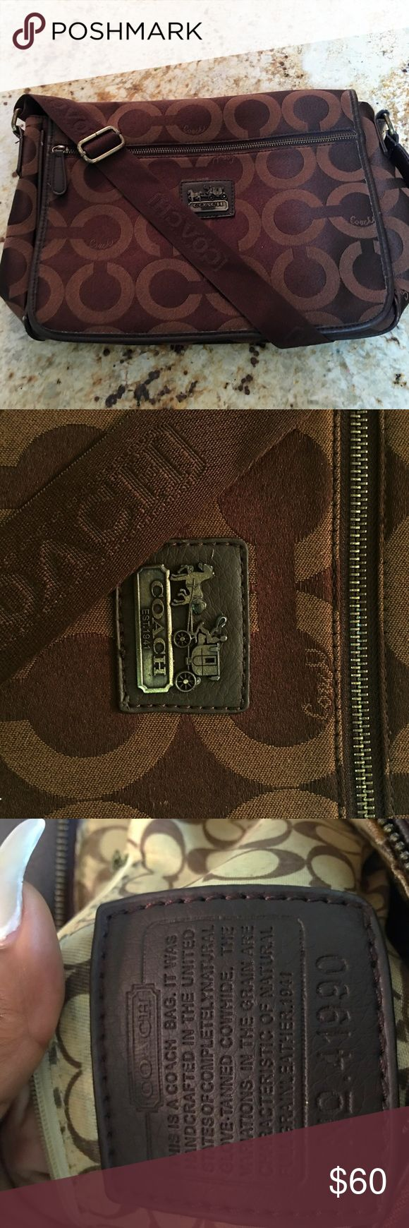 Coach messenger bag Coach messenger bag Coach Bags Laptop Bags
