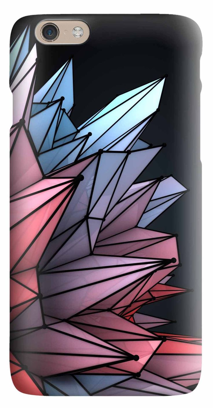 Whatskin DIY Style Hand Drawing Crystalline Hard Back Cover for iphone 6