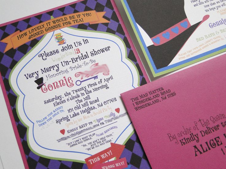 17 best images about alice in wonderland baby shower on pinterest, Baby shower invitations