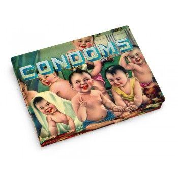 BOX POCKET CONDOMS