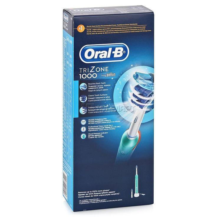 Braun Trizone 1000/D20. Приобрести Электрические зубные щетки и ирригаторы в интернет магазине shop-zdorovye.ru